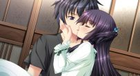 cute anime kissing romance Chrono Clock CG Gallery