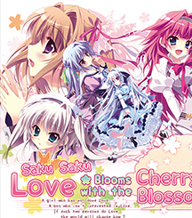 Saku Saku: Love Blooms with the Cherry Blossoms