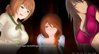 cartoon girls anime night in the forest Happy Campers CG Gallery