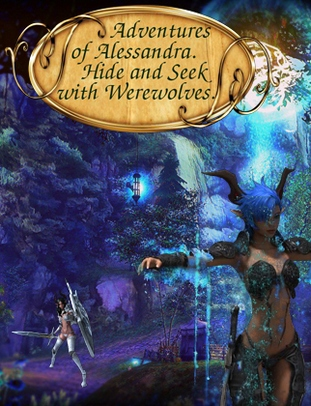 Adventures of Alessandra: Hide and Seek with Werewolves - download free apk mod for Android