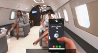 Self phone on a plane The Family Secret [VN]