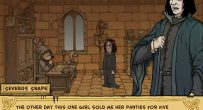 love story severus snape cartoon